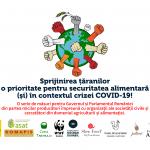 RDRP se alătură inițiativei Asociației Eco Ruralis: Sprijinirea țăranilor – o prioritate pentru securitatea alimentară  (și) în contextul crizei COVID-19!